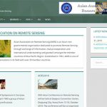 制作実績22:英語サイト・AARS(Asian Association on Remote Sensing)様