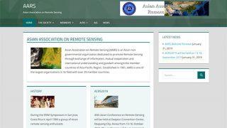 AARS(Asian Association on Remote Sensing)英語サイトをリニューアルしました